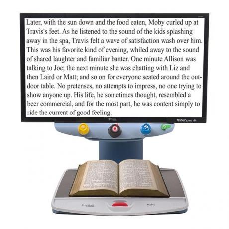 托帕茲EZ HD桌上型擴視機